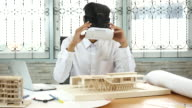 Architect Using Virtual Reality in his work