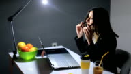 Architect Working Under Pressure In Her Office