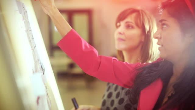 Architekten Teamarbeit Frauen in der startup-Büro