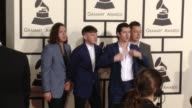 Arctic Monkeys at The 57th Annual Grammy Awards Red Carpet at Staples Center on February 08 2015 in Los Angeles California