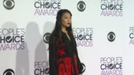 Arden Cho at the People's Choice Awards 2016 at Nokia Plaza LA LIVE on January 6 2016 in Los Angeles California