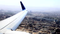 areal city view