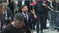 Argentina and Barcelona football star Lionel Messi one of the world's highest paid athletes takes the stand Thursday for the first time at his tax...