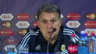 Argentina coach Gerardo Martino said that although the Copa America final against Chile was very balanced Argentina is the team that should have won