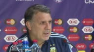 """Argentina coach Gerardo Martino said they have """"every intention of winning"""" the Copa America final against Chile on Saturday"""