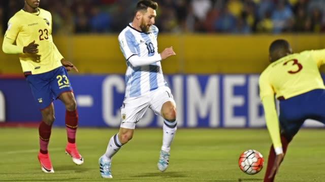 Argentina liderada por Lionel Messi Colombia y Uruguay clasificaron el martes al Mundial de Rusia 2018 mientras que Peru jugara la repesca contra...