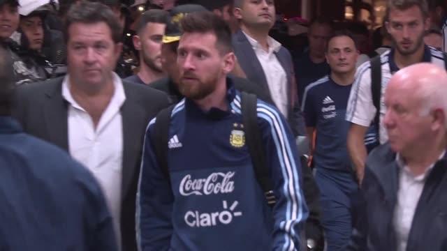 Argentina liderada por Lionel Messi esta en Ecuador en visperas del partido en el que se jugara su pase al Mundial de Rusia 2018