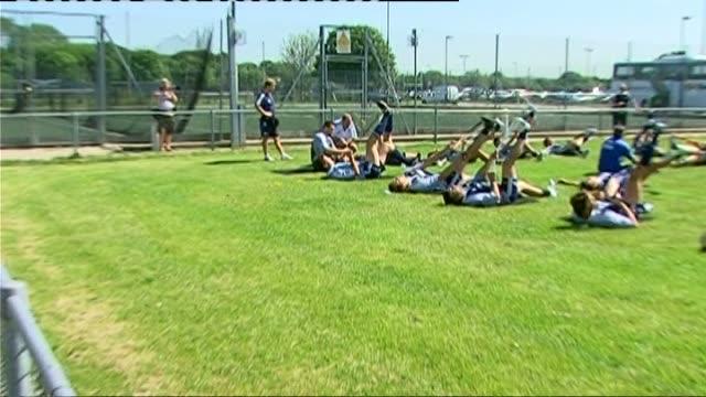 Argentina Pumas train before test match v England Argentina Pumas training
