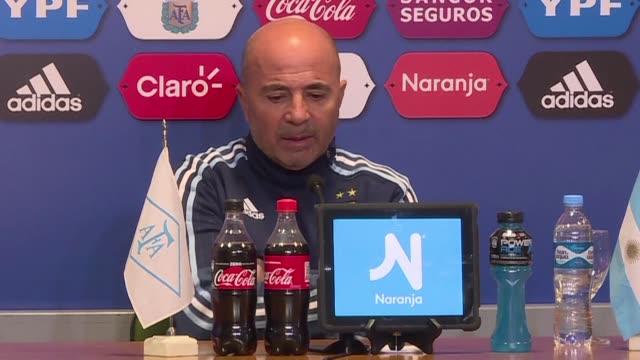 A Argentina solo le sirve un triunfo ante Venezuela aseguro el lunes el entrenador Jorge Sampaoli en una rueda de prensa en la vispera de un partido...