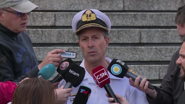 Argentina's military on Saturday were continuing the search for the submarine ARA San Juan which has been missing with 44 crew aboard for days