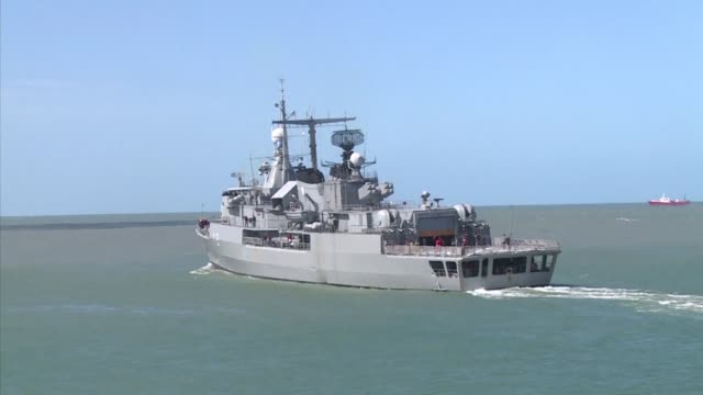Argentine destroyer ARA Sarandi joined the international search mission for a missing Argentine submarine Tuesday as uncertainty over the fate of its...