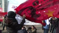 Argentine workers launched a general strike Thursday to protest rising unemployment and runaway inflation adding to President Cristina Kirchners...