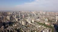 arial view of city in china,Chengdu,China