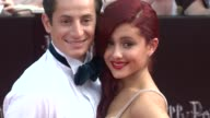 Ariana Grande and guest at the 'Harry Potter And The Deathly Hallows Part 2' New York Premiere Arrivals at New York NY
