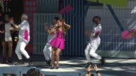 PERFORMANCE Ariana Grande at Nickelodeon's 10 Annual Worldwide Day of Play Celebration More Than 50000 Kids And Families Join Brook Lopez Ariana...