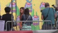 Ariana Grande at Nickelodeon's 27th Annual Kids' Choice Awards Celebrity Sightings in Los Angeles on March 29 2014 in Los Angeles California