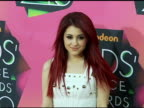 Ariana Grande at the Nickelodeon's 23rd Annual Kids' Choice Awards Arrivals Part 2 at Los Angeles CA