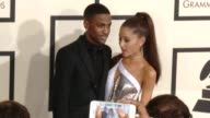 Ariana Grande Big Sean at The 57th Annual Grammy Awards Red Carpet at Staples Center on February 08 2015 in Los Angeles California