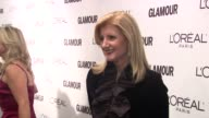 Arianna Huffington at the Glamour Magazine Honors The 2010 Women Of The Year Red Carpet at New York NY