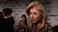 INTERVIEW Arianna Huffington on being here tonight to present an award to Natalia Vodianova model and founder of the Naked Heart Foundation She...