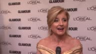 Arianna Huffington on being here with her two daughters and teaming up with Glamour at the GLAMOUR Magazine's 21st Annual Women Of The Year Awards at...