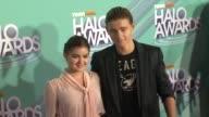 Ariel Winter and Callan McAuliffe at the TeenNick HALO Awards