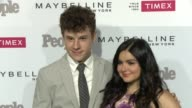Ariel Winter and Nolan Gould at the People Magazine's 'One's To Watch' Celebration at Ysabel on September 16 2015 in West Hollywood California