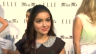 Ariel Winter on coming out tonight on who she misses and why on her favorite sentimental song on her favorite look with jeans and if she's been...
