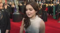 Ariel Winter on who she's wearing and what she loved about it what makes the SAG Awards different than other award shows how it feels to be nominated...