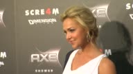 Arielle Kebbel at the AXE Shower Presents The World Premiere Of 'Scream 4' at Hollywood CA