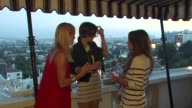 Arielle Kebbel Jessica Stroup Nicole Chavez Brittany Snow at the LOFT Fall 2010 Style Studio Press Preview And Cocktail Party at Los Angeles CA