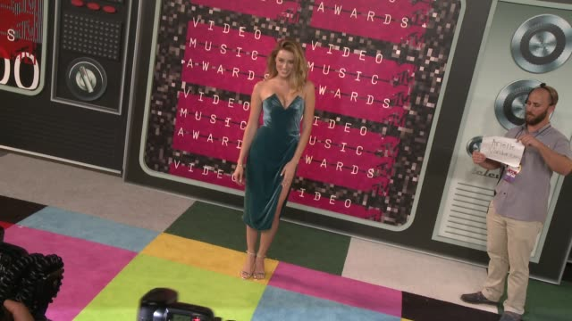 Arielle Vandenberg at the 2015 MTV Video Music Awards at Microsoft Theater on August 30 2015 in Los Angeles California