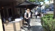 Arielle Vandenberg shopping in Beverly Hills in Celebrity Sightings in Los Angeles