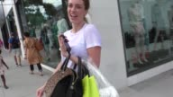 INTERVIEW Arielle Vandenberg talks about National Girlfriends Day while shopping in Beverly Hills in Celebrity Sightings in Los Angeles