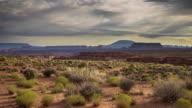 Arizona Desert Canyon - Time Lapse