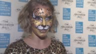 INTERVIEW Arizona Muse on her costume celebrating The Halloween at UNICEF The Halloween Ball at One Mayfair on October 29 2015 in London England