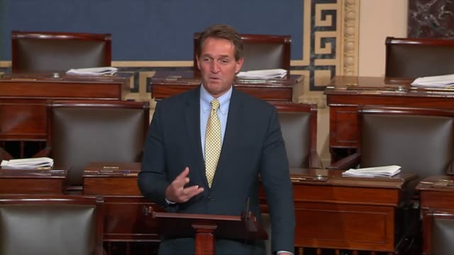 Arizona Senator Jeff Flake notes a bilateral agreement on American commercial flights into Cuba the night before encouraging eligible Americans to...