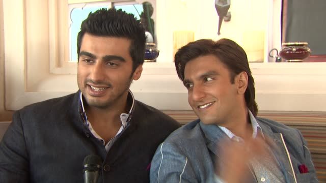 INTERVIEW Arjun Kapoor and Ranveer Singh on being part of the new era of Indian cinema 'Gunday' Press Junket 10th Annual Dubai International Film...