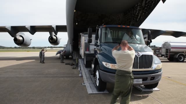 10 Arkansas Air National Guard members from the 188th and 189th Support Services are deploying along with a Disaster Relief Mobile Kitchen Trailer in...