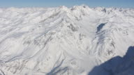 Arlberg - View of the mountain range in Lech 02