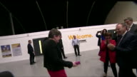 Arlene Foster celebrating DUP success in the general election