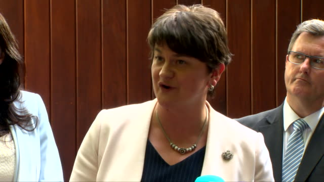 Arlene Foster saying 'perjorative language like 'hard Brexiteers' doesn't really work for anybody'