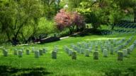 Arlington National Cemetery in Spring