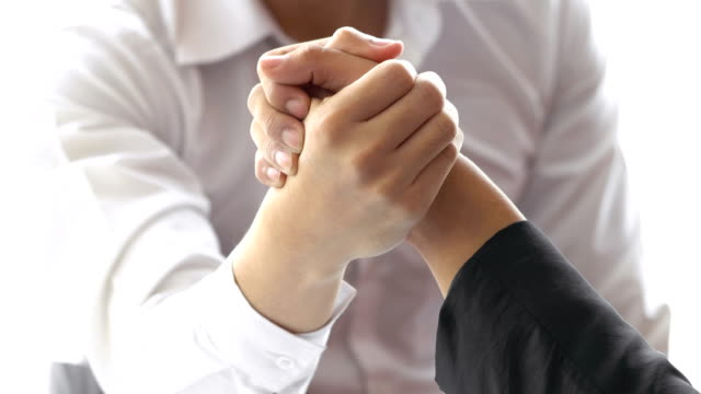 Arm wrestling Business in office