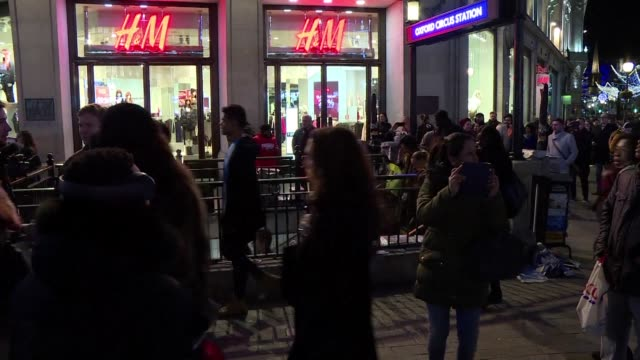Armed police rushed to London's busy Oxford Street shopping district on Friday after reports of shots fired sparked fears of a terror incident but...