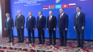 Armenian President Serzh Sargsyan Belarussian President Alexander Lukashenko Kazakh President Nursultan Nazarbayev Kyrgyz President Almazbek...