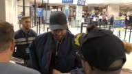 Armie Hammer at Salt Lake City International Airport at Celebrity Sightings on January 21 2017 in Park City Utah