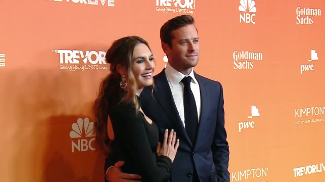 Armie Hammer at The Trevor Project's 2017 TrevorLIVE LA Gala in Los Angeles CA