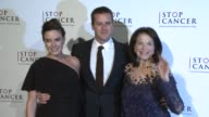 Armie Hammer Elizabeth Chambers and Sherry Lansing at Stop Cancer Annual Gala Honoring Lori And Michael Milken at The Beverly Hilton Hotel on...