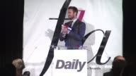 SPEECH Armie Hammer Illaria Urbinati at The Daily Front Row Presents First Annual Fashion Los Angeles Awards in Los Angeles CA